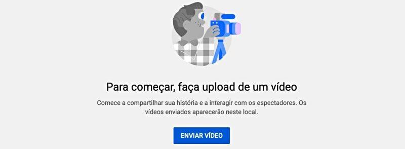 como publicar videos no youtube